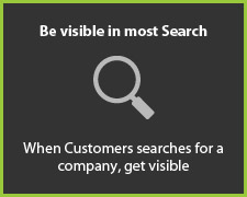 Be Visible in most search!